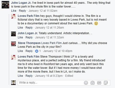 Loves Park Facebook